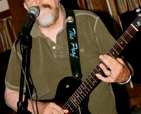 Dave Orban at the Spring Meadow Inn, Jul, 2014