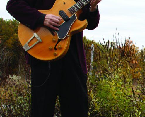 Mojo Gypsies' leader, guitarist Dave Orban