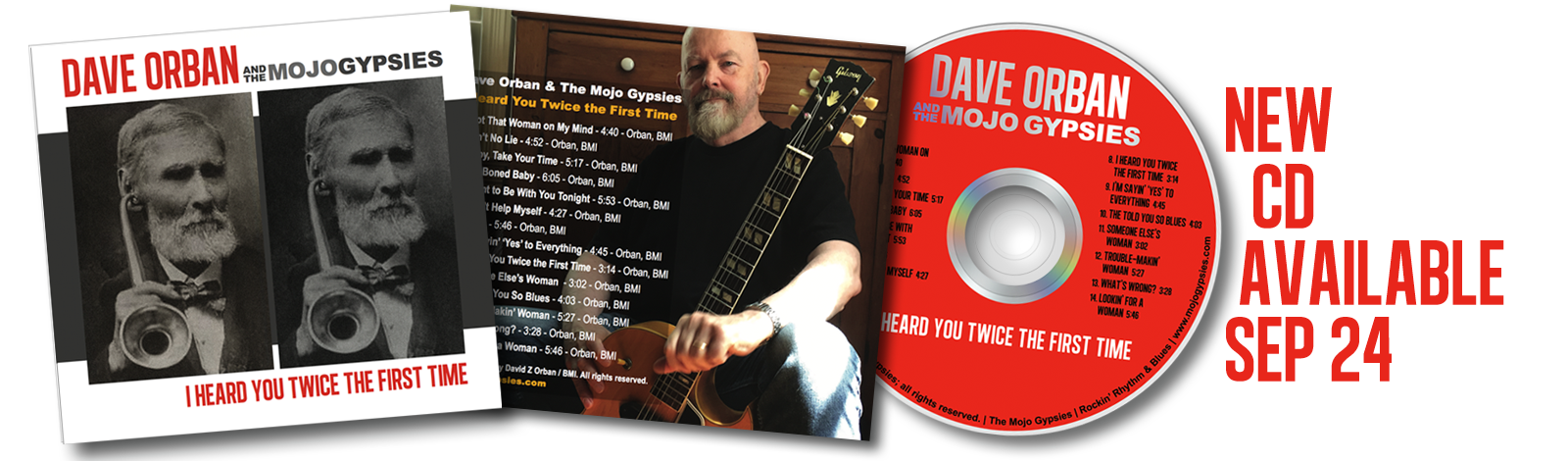 Mojo Gypsies New CD Available Now